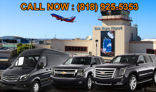 Car Services from Brubank to LAX