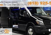 Affordable Luxury Van Limo From LAX Airport to Los Angeles