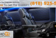 Luxury Sprinter Van Limo Transportation From LAX Airport