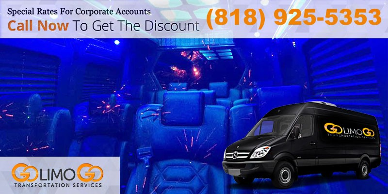 Luxury Van Transportation in Los Angeles
